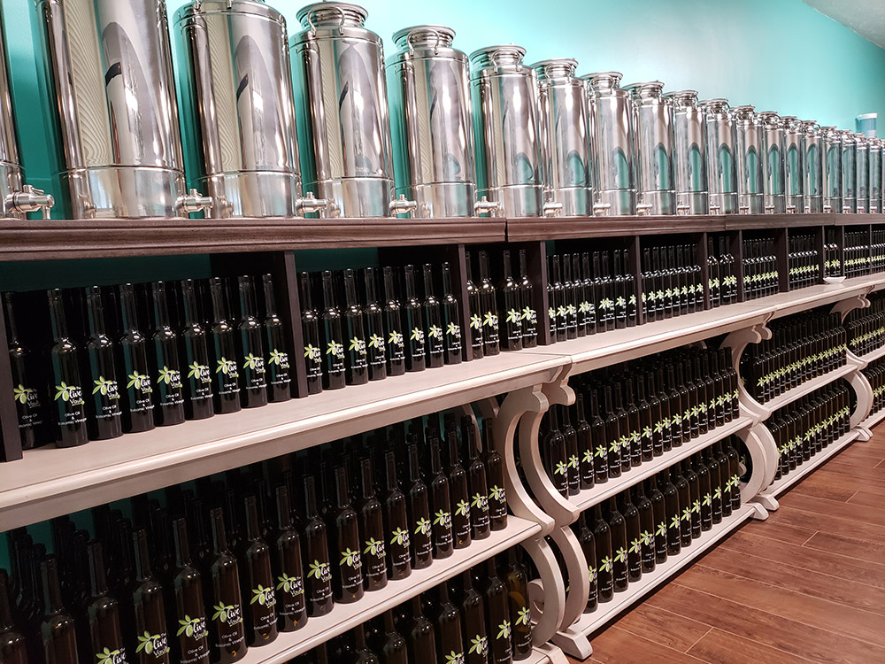 The Olive Vault Olive Oils & Vinegars